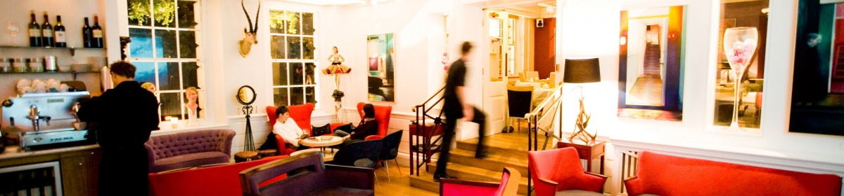 Boutique Lounge at the Berkeley Square Hotel Bristol